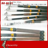 With 18 years experience Hot selling light weight carbon surf fishing rod Hand Pole Streams Lures fishing rod