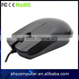 High quality popualr office wired optical mouse laptop spare parts