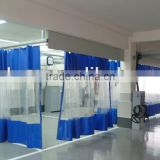 curtain sanding room furniture spraying paint booth(CE,China)
