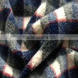 Design antique lamb wool faux fur fabric