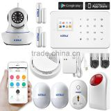 Stable quality and factory price of KERUI G18 security camera best gsm home alarm system
