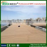 Deck boat WPC material with fireproof and waterproof/tongue and groove composite decking
