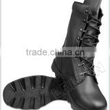 Tactical Boots of full grain leather upper with durable non-slip outsole/ can wear to anywhere