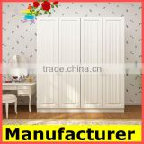 Hot Sale Italian Wooden Colourful Design Bedroom Wardrobe