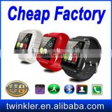 Handsfree calling Bluetooth U8 Smart Watch WristWatch Wrist Wrap Watch with remote control