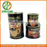 Best quality screw lid coffee tin,coffee tin box,coffee tin can