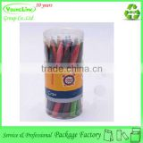 Transparent plastic cylinder crayon packaging box                                                                         Quality Choice