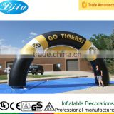 DJ-GM-30 advertising decoration inflatable arch entrance racing start rectangular