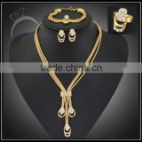 fashion casual jewelry set for women/gold plate jewelry to buy