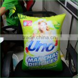 Custom Made Advertising Inflatable Washing Powder With Logo Printed , Cheap Inflatable Detergent Powder Shape For Advertising