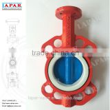 LAPAR Center Line Type DI Resilient Seated Butterfly Valve, Wafer Butterfly Valve PN10/16 ASME CLASS 150 JIS 10K