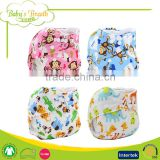 PSF-11 printed rumparooz factory outlet cartoon baby cloth diaper organic