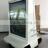 Light box for outdoor advertising, bike trailer with audio system, YES-M3
