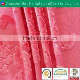 Hot sale polyester jacquard luxurious fabric100% polyester embossed upholstery fabric/China home textiles velvet fabric