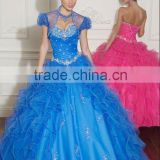 2012 New Arrival Modern Gorgeous Luxury Layered Applique Quinceanera Dress Pageant Dress MLQ-284