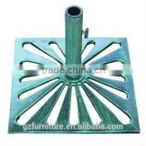 factory supply umbrella stand cast iron