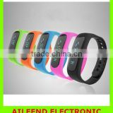 smartband Waterproof Watch OLED Fitness Sleep Tracker For iPhone Android 5 Colors Smart Bracelet Wristband