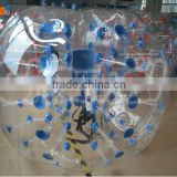 PVC Summer cool Lawn Inflatable collision Bumper Buffer Impact Zorb Run In Touch Ball Football Soccer Bubble Ball