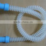 22mm corrugated medical silicone tube for adult,1.8m 1.5 meter medical silicone tube to anesthesia machine,breathing machine