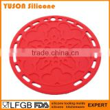 Round Tracery Silicone Placemat