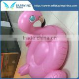 custom pool float Inflatable water pool toys white black gold swan , 190cm pvc pink flamingo