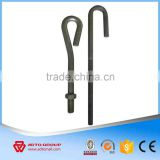 Factory price High strengh Foundation Bolts bent anchor bolts Anchor Bolt Series