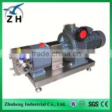 rotary pump sanitary rotary lobe pump stainless steel hand rotary oil pump rotary lobe pump