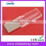 Top quality 3d laser engraving crystal usb flash memory