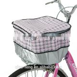 Design a promotional bicycle basket cover/bike rain cover