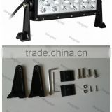 60W 13inch Single Row led light bar Cree led light bar 9--32V Flood/Spot/Combo CREE single row led light bar