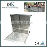 aluminum mojo barrier cheap crowd control barrier