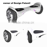 HX 2016 Wholesale Hover board 2 Wheel Electric Skateboard Smart Balance Scooter with Marquee