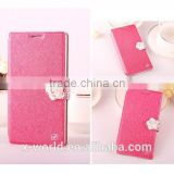 Fashion PU Leather Purse Case for with Card ID Holder for Huawei Ascend P7