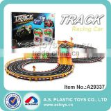 1:43 Scale track slot racing car with music and multifunction light