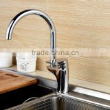 QL-33519 Brass Kitchen Faucet, Chrome Single Handle Kitchen Mixer Tap,High Quality Kitchen Sink Faucets