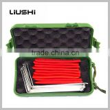 China supplier High quality 12pcs lock pick set locksmith tools car key tools whole sale
