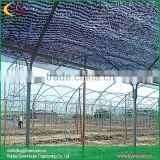 Arch roof type colored shade cloth for greenhouse garden windbreak netting shade cloth fencing