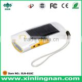 solar charger with FM Radio & Solar flashlight with phone charger & solar light