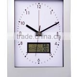 digital wall clock with day and date