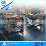 Single deck square discharge safety vibrating screen sifter sieve machine for powder granule