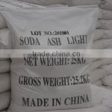 Best manufacturer !soda ash dense/light sodium carbonate 99.2% for glass industry &food grade