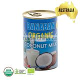 Australia High Quality BANABAN Certified Organic Coconut Milk,Bulk coconut milk Wholesale