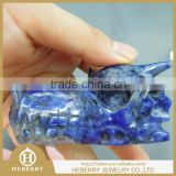 charming crystal products Natural sodalite Dragon Skull / Wholesale Quartz crystal Dragon Head