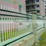 20 years factory! high security wrought iron guard and Decorative PVC coated zinc steel fencing