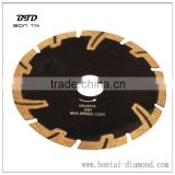 Fat T segment Dry & wet cutting blade for granite ,Engineering brick, Concrete Masonry with High performance and long life