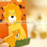 custom Self-Adhesive Feature cartoon magnetic die cut sticky notes