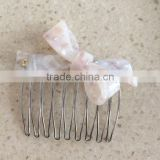 2016 Wholesale Price Fashion Cellulose Acetate Bulk Hair Combs Clips In Hair Accessories From China