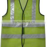 Safety Reflecting Vest with Eyelets and Reflective Tape
