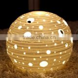 Hot Custom Plastic Art Light Night Ball Bedroom Decoration/OEM Made Your Own Design Night Light Lamp China Factory
