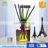 Logo branding classic aromatic oil reed diffuser with custom box packaging